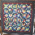 Square Scappy Quilt