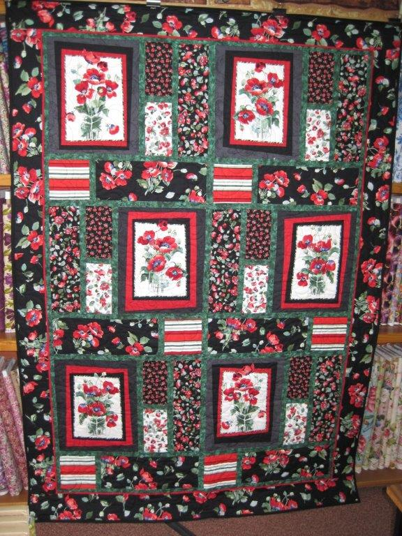 Pretty Poppy Quilt A Little Patch Of Country