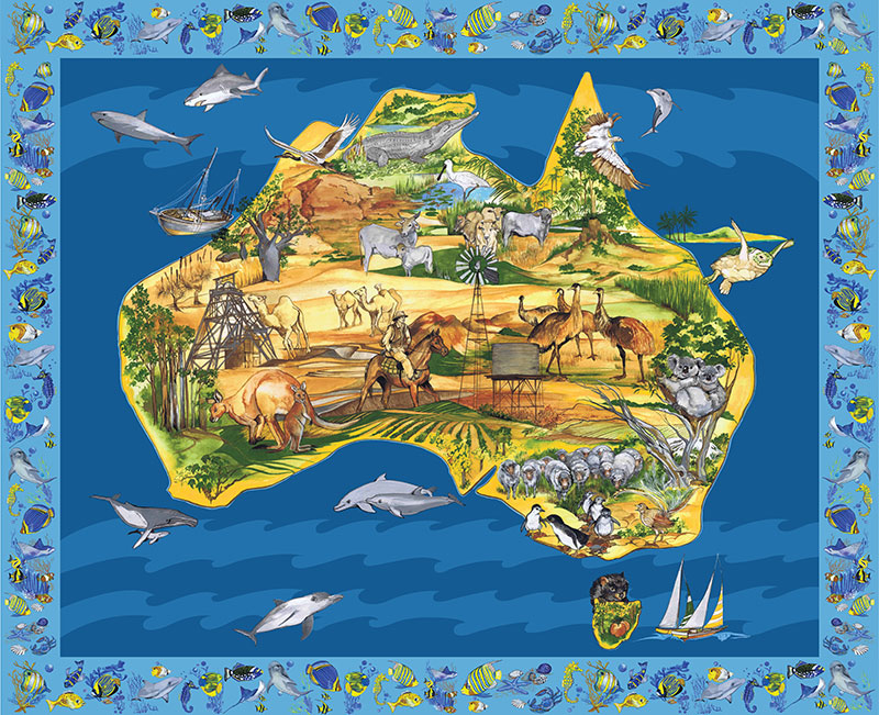 My Country Australia A Little Patch Of Country