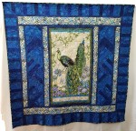 Peacock Panel Quilt
