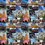 Melbourne Sights Collage