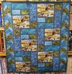 Longhorn Blues Quilt