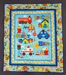 Emergency Vehicle Quilt