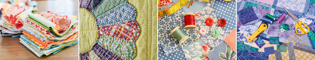 patchwork fabrics and notions